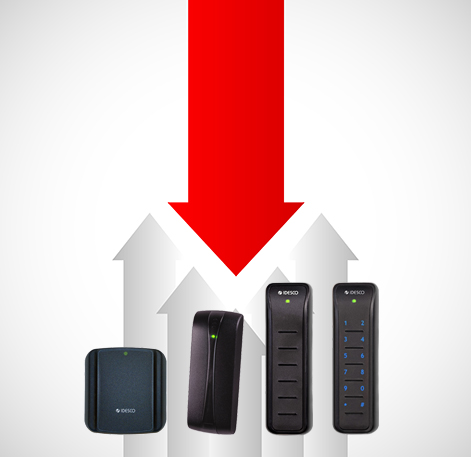 RFID readers with a long life-cycle, easy to install and update