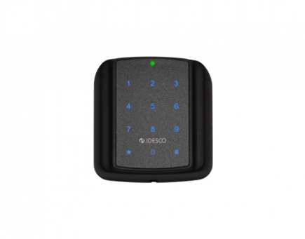 Durable access control reader with pin pad