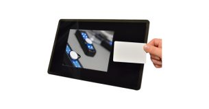 touch screen RFID device